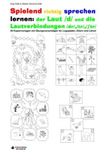 Spielend richtg sprechen lernen: der Laut /d/ Übung 00 - Inhaltsverzeichnis D, TR,STR_01