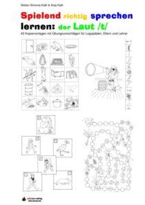 Spielend richtig sprechen lernen: der Laut /t/ Übung 00 - Inhaltsverzeichnis T farbig_01
