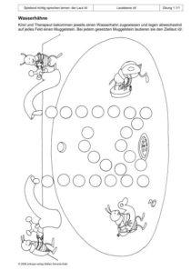 Spielend richtg sprechen lernen: der Laut /d/ Übung 01 - Wasserhähne_01