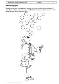 Spielend richtig sprechen lernen: der Laut /r/: 01 - Mit Mozart gurgeln