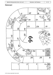 Spielend richtig sprechen lernen: der Laut /r/: 37 - Räuberspiel1