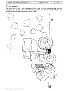 Spielend richtig sprechen lernen: der Laut /g/ Übung 02 - Traktor anlassen1
