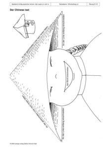 Spielend richtig sprechen lernen: die Laute /ç/ und /x/ Übung 08 - Der Chinese isst_01
