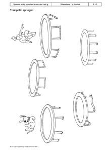 Spielend richtig sprechen lernen: der Laut /g/ Übung 08 - Trampolin springen1